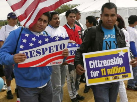 Obama: Amnesty Bill that Rewards Illegals Means 'Everyone Plays by the Same Rules'