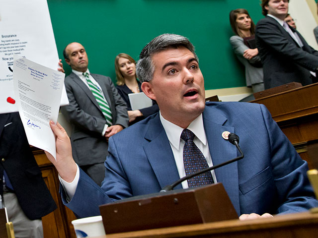 Gawker's Deadspin Blows Hit On Cory Gardner