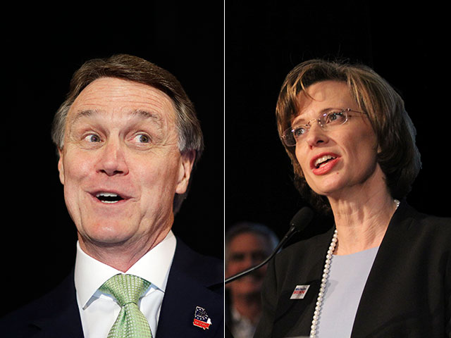 Perdue, Nunn Spar At Rowdy Senate Debate