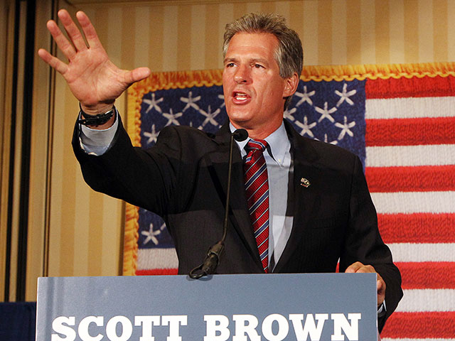 Exclusive — Scott Brown: 'Nothing More Important' to America's Safety Than Securing Border