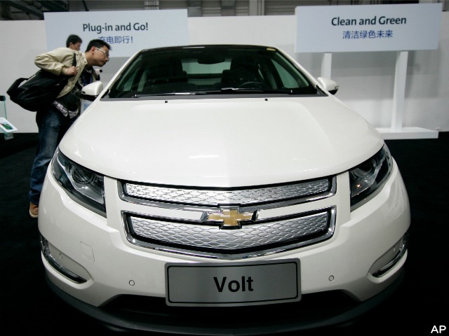 GM Has Sold Only 58,000 Chevy Volts in Three Years