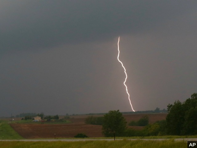 First-Person Video: Storm Chaser Gets Struck by Lightning
