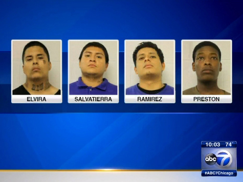 Video: 7 Chicago Gang Members Charged in Vicious Machete Attack