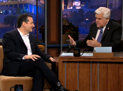 Tonight Show Audience Roars with Approval After Cruz Bashes Obamacare, DC's Permanent Political Class