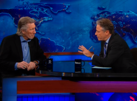 Jon Stewart Fails to Question Roger Waters's Anti-Israel Extremism