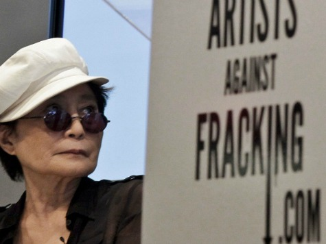 Anti-Fracking Celebs Yoko Ono, Susan Sarandon Tour Pa. Gas Drilling Sites
