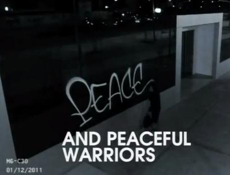 Super Bowl Coke Ad Endorses Antiwar Graffiti