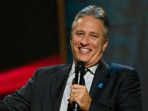 Jon Stewart Stands with Rand Paul