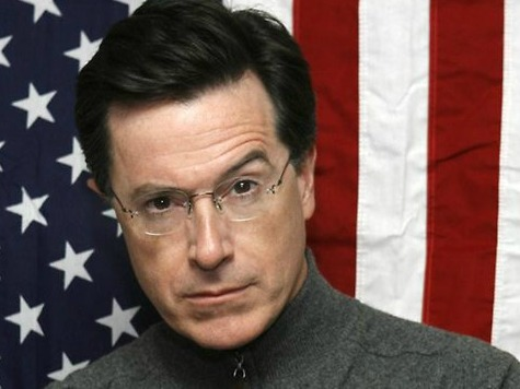 Stephen Colbert Cozies Up to Democrats on Hill