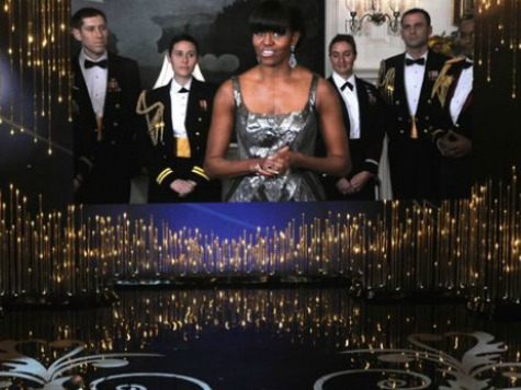 One Percent Perks: First Lady's $9 K Oscar Dress