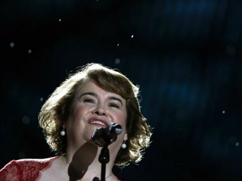 Susan Boyle Starring in First Film