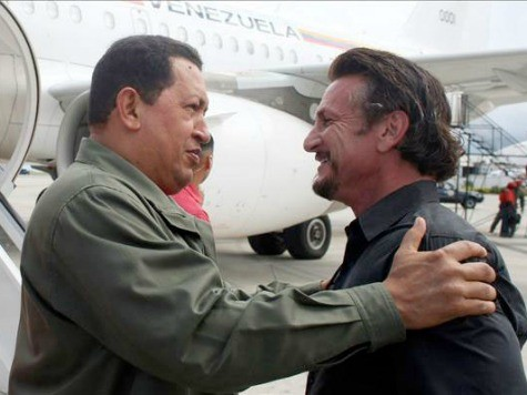 Sean Penn Bemoans Death of His 'Friend' Hugo Chavez