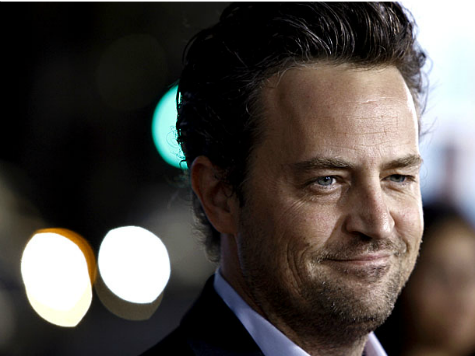 'Friends' Star Matthew Perry Visits D.C. to Support Drug Courts