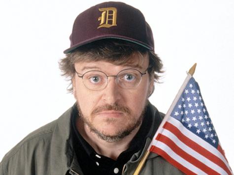 "Michael Moore: 'Two Americans Bomb Boston Marathon … #RestOfWorldYouAreSafeNow"""