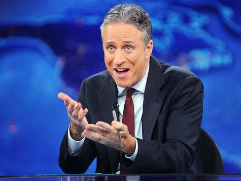Jon Stewart Shreds CNN's Bombing Coverage, Says Network 'Sh** in Its Own Mouth'