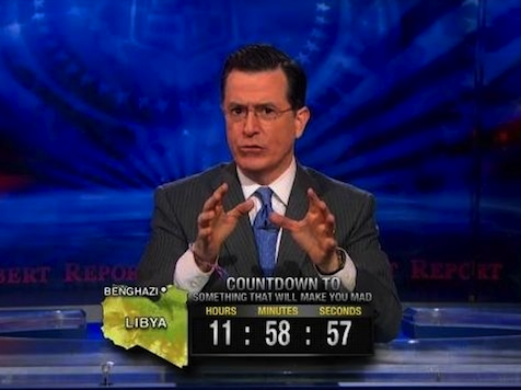 Colbert Mocks Benghazi Hearings as Unimportant