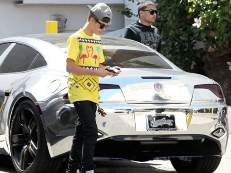 Justin Bieber Fined Six Times by Dubai Speed Cameras