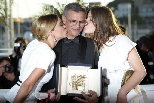Tunisia Hails Lesbian Love Film's Cannes Success