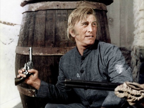 Kirk Douglas: America is a 'Cowboy Country with too Many Guns'