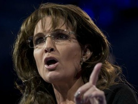 Palin to Maher: Someone Should Flatten 'Your Lily White Wimpy A#*'