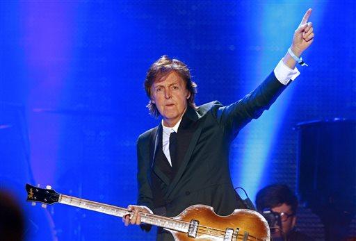 Paul McCartney Carries the Weight at Bonnaroo