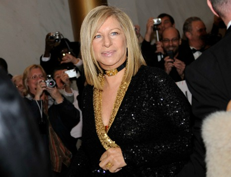 Streisand Lectures Israelis on Women's Rights