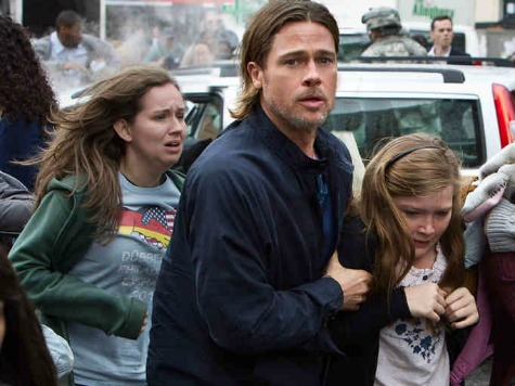 'World War Z' Review: Zombie Thriller Has Brains, Global Scope