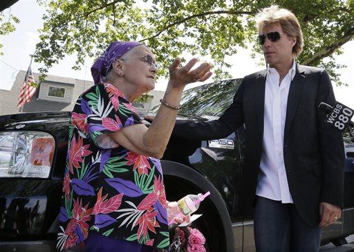 Bon Jovi Gives $1M to NJ Superstorm Sandy Relief