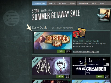 Annual Steam Summer Sale Brings Huge Discounts to Gamers