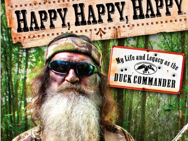 Phil Robertson's 'Happy, Happy, Happy' Tops Summer Book Sales