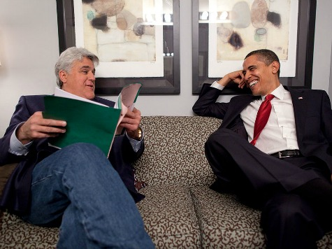 Obama to Appear on Jay Leno's 'Tonight Show,' Fireworks Not Expected