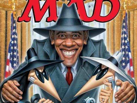 Mad Magazine Mocks Obama, NSA Spying