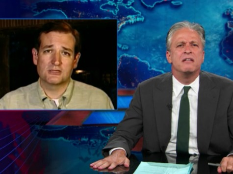 'Daily Show' Implies Ted Cruz Gunning for Syria Intervention