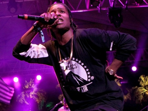 Rapper A$AP Rocky Charged with Slapping Philly Fan