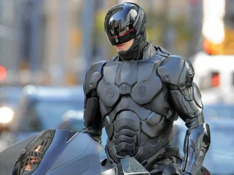 'RoboCop' Reboot Replete with Drone Commentary, 'Right Wing' Punditry