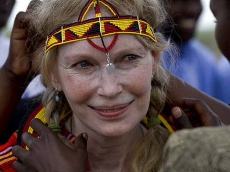 Mia Farrow: 'President Obama Has Joined that Silence' on Genocide in Sudan