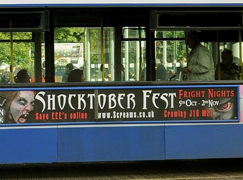 Zombie Ads on British Buses Deemed Too Scary