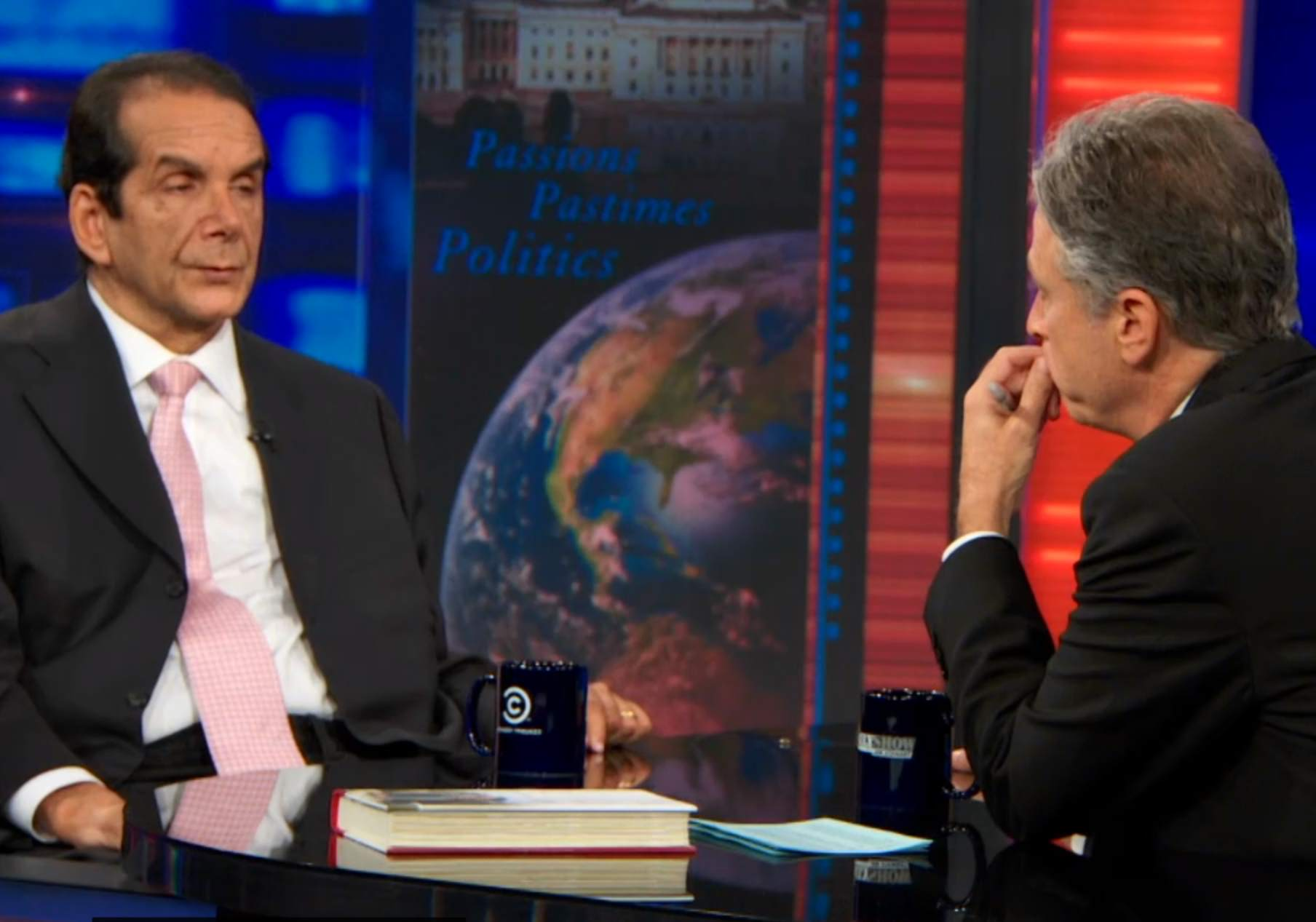 Review: Krauthammer vs. Stewart on the Daily Show