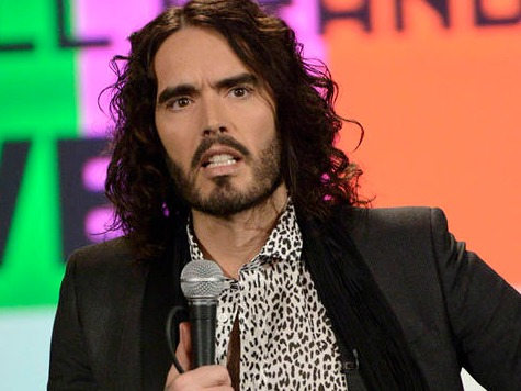 Russell Brand Denies He's a Hypocrite, Slams U.S. Troops, Capitalism