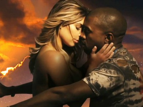 Kim Kardashian, Kanye West Simulate Sex in New Video