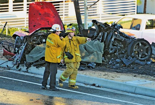 Teen Arrested For Stealing Wreckage from Paul Walker Crash
