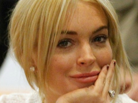 Lindsay Lohan Parties After Being Accused of Masterminding Hilton Family Beating