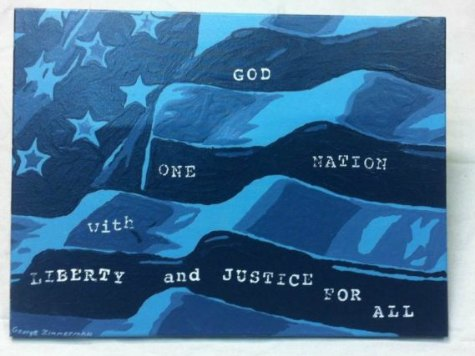Painting by George Zimmerman Nears $100,000 Bid on eBay