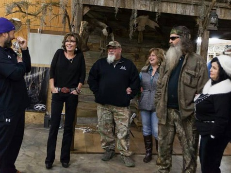 Sarah Palin: 'Intolerants' Behind Phil Robertson's Suspension Attacking 'All of Us'