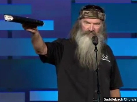 Pastor: Phil Robertson Was Praying for Cancer Victim When A&E Suspended Him