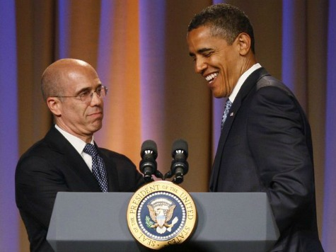 Obama Donor Jeffrey Katzenberg to Co-Host Fundraiser to Unseat Sen. McConnell