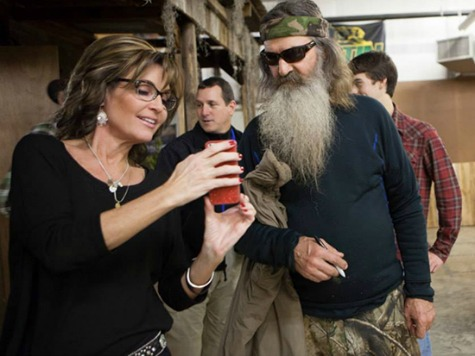 Sarah Palin, 'Duck Dynasty' Clan to Ring in New Year on Fox News