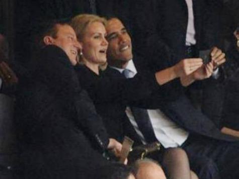 'SNL' Mocks Obama's Memorial Selfie, Phony Sign Language Interpreter