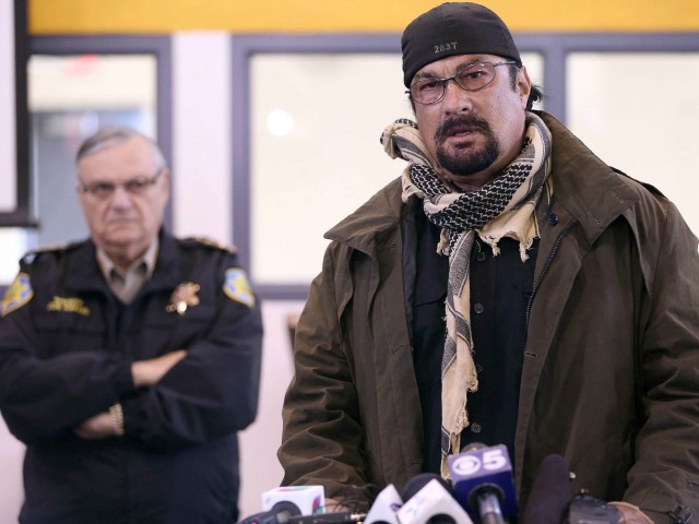 Steven Seagal May Run for Arizona Governor to Secure Border