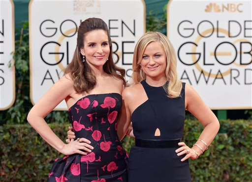 Fey, Poehler start Globes with punch-line spree